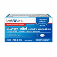 Basic Care Allergy Relief Tablets