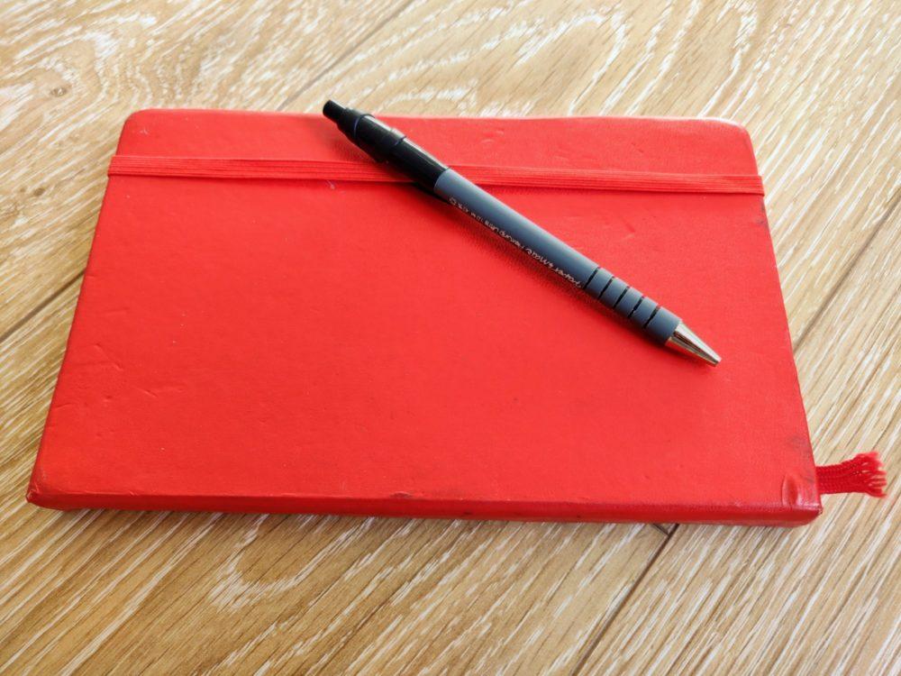 Camino de Santiago - journal and pen