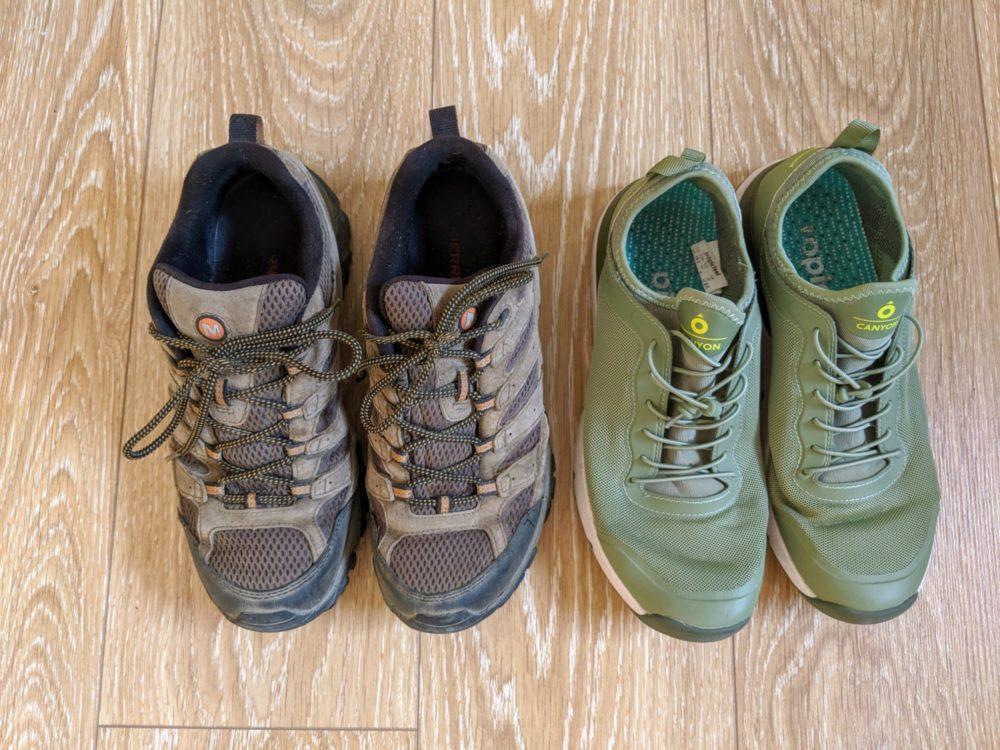 Camino de Santiago - shoes