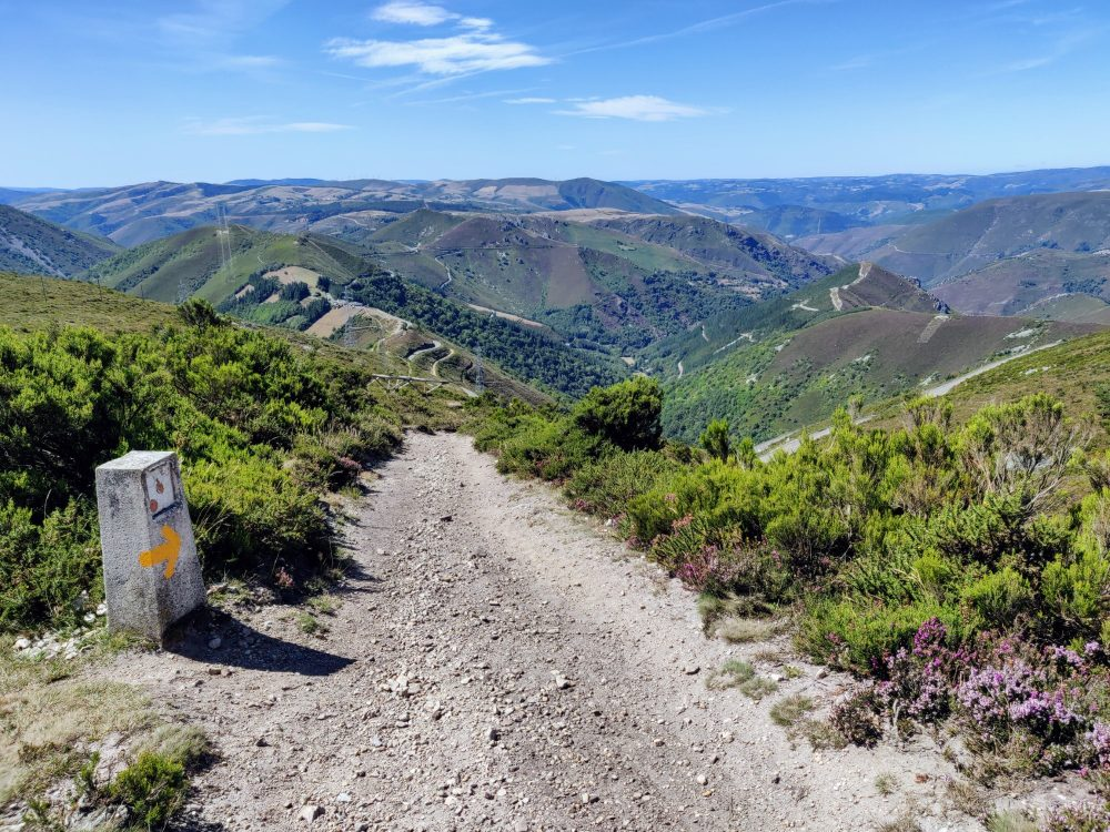 Start of the descent into Montefurado