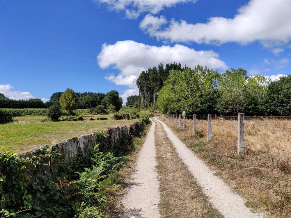 Walking towards Lugo